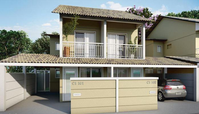 Casa duplex em Campo Grande