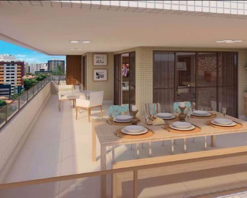 Apartamento na Graça, 3/4  3 suítes com 164m², o Torre Bárbara 3 vagas.