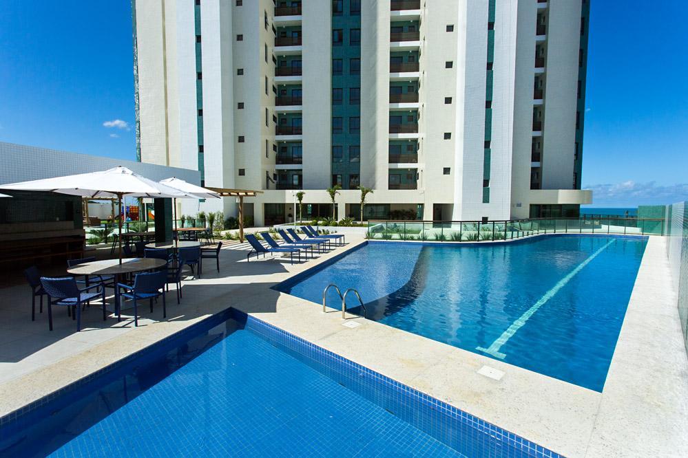 Maison Biarritz. Patamares, 4 suites com  vista mar, área de lazer completa,