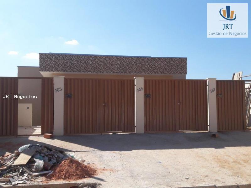 Casa nova com entrada individual, de 2 quartos, Betim - MG.