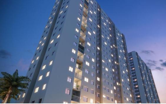 Apartamento 2 Dormitórios 1 Suíte 1 Vaga - Minha Casa Minha Vida