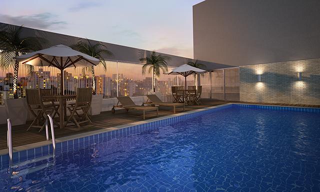 Apartamento 55 metros 2 dormitórios 1 suíte. Diadema - Centro.
