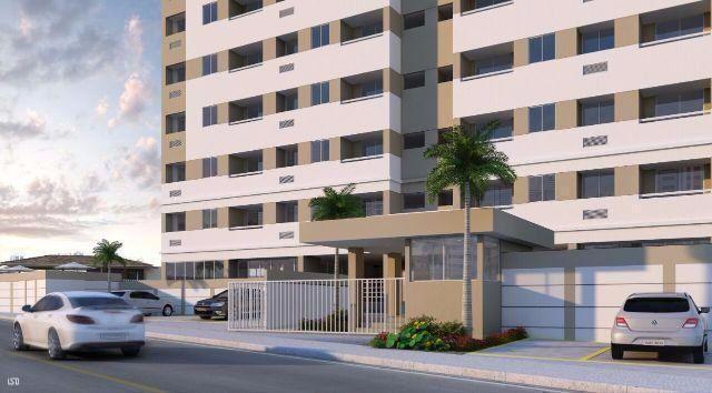Apartamento 2/4 no cabula, Com área de lazer completa, 1 vaga, Suite, Novo