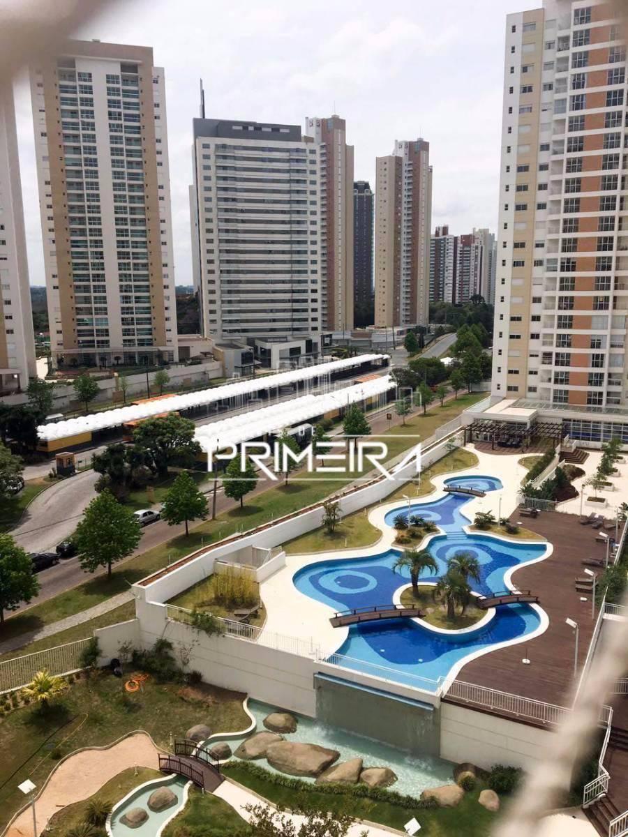Parque Ecoville Apartamento - 3 dorm. - 2 vagas - 113 m² priv. Ecoville