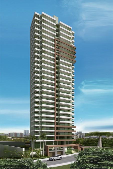 Apartamento na Graça, 4 quartos sendo 4 suites com 3 vagas, Novo, Mansão Grazia
