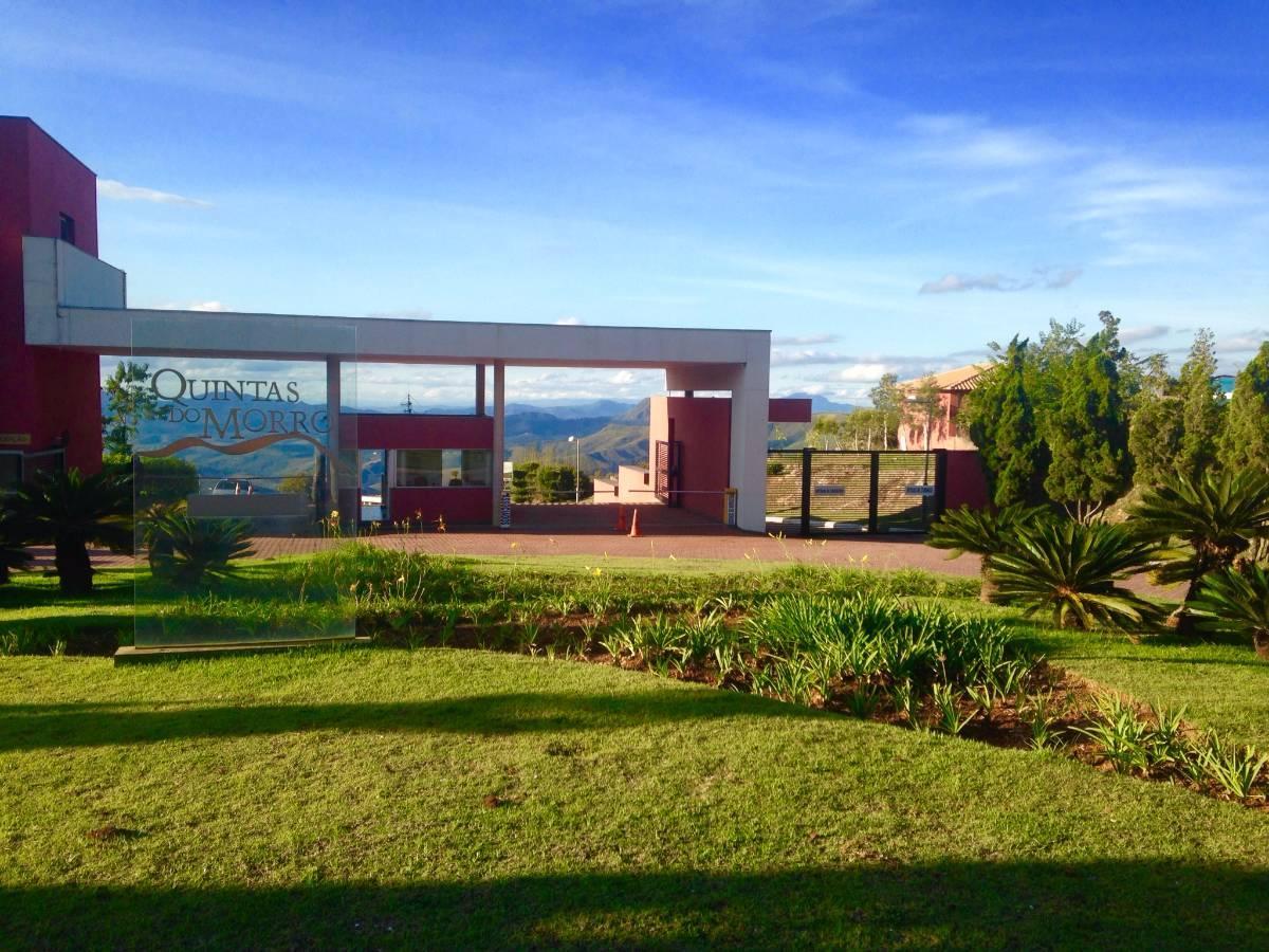 Lote de 3.009 m2 à venda no Condomínio Quintas do Morro - Nova Lima - MG