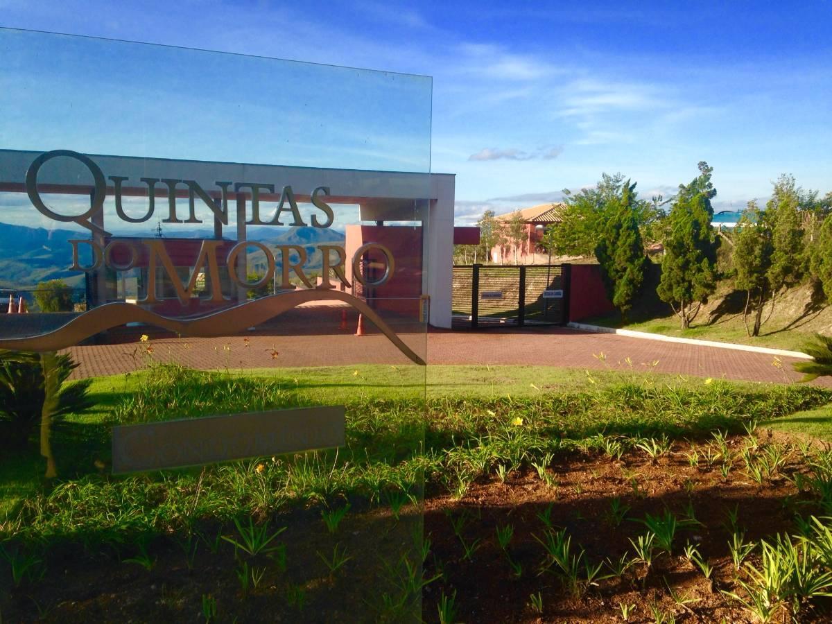 Lote de 5.775 m2 à venda no Condomínio Quintas do Morro - Nova Lima - MG
