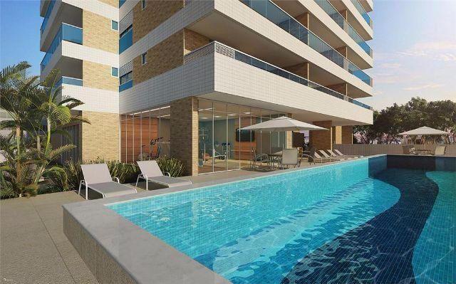 Apartamento em Armação, 2/4 com 76m² - Vista Mar -Novo,  Miramar Residence