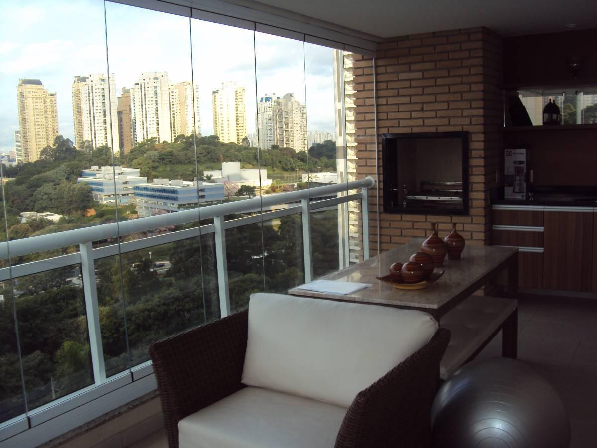Apartamento lindo para venda no Morumbi - 171 m2 , 4 dormitórios , 4 vagas