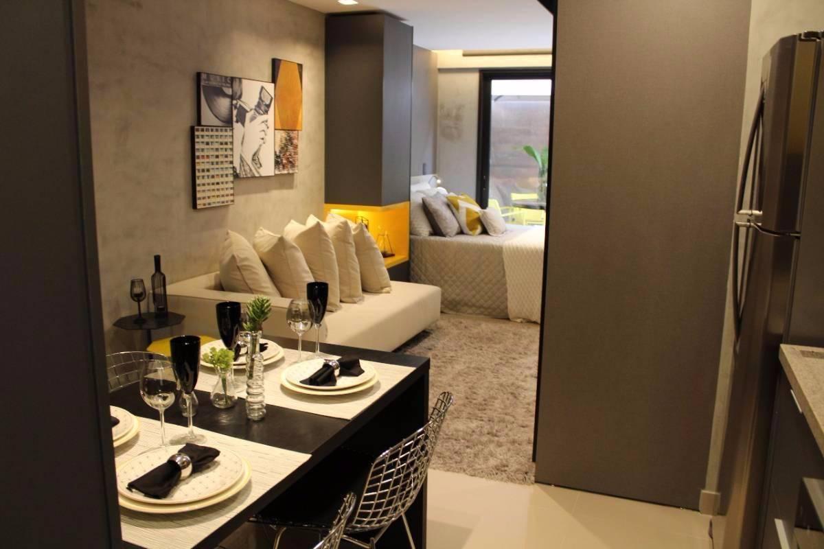 Soul Housing & Shop - Apartamento de 1Quarto com 30m² - Noroeste