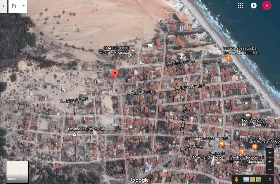 Lote/Terreno para venda com 560 m2 na Praia de Majorlandia - Aracati - CE.