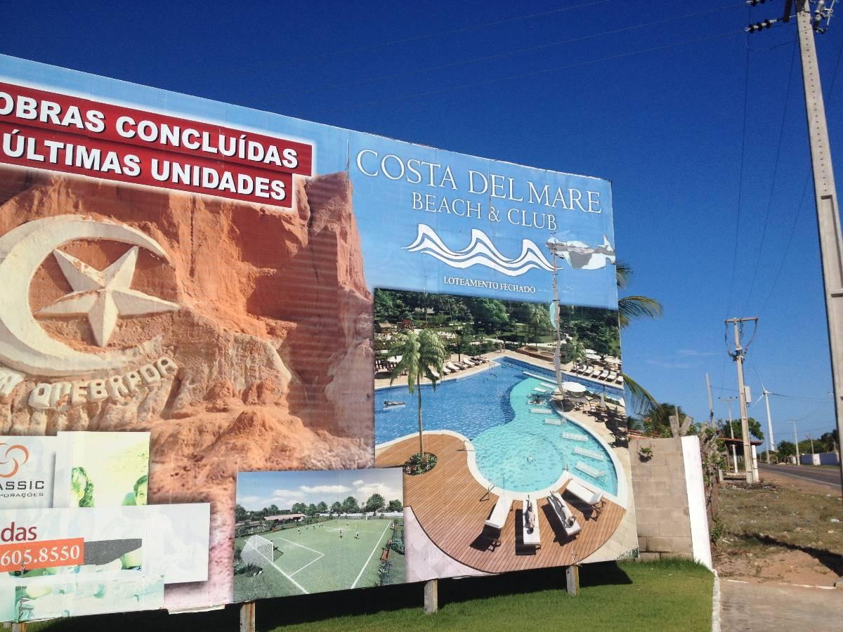 Lote/Terreno para venda. Com 300 m2 na Praia de Majorlandia - Aracati - CE.