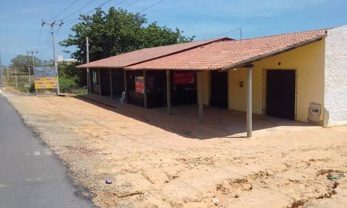 Ponto Comercial para venda tem 250 m2 e 1 quarto em Pedregal - Aracati - CE.