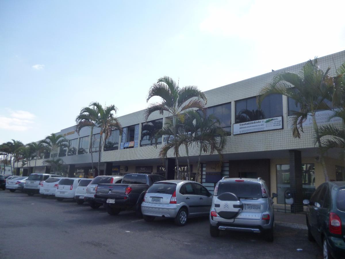 Sala comercial com divisórias para alugar no Sudoeste