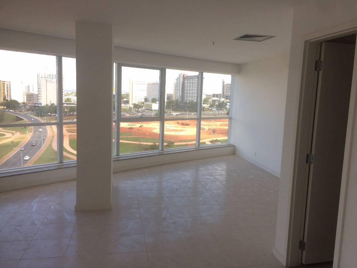 conjunto de salas com 442M²  no Le Quarier, de frente com vista livre.