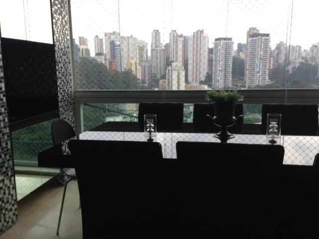 Apartamento no morumbi / panamby - Ventana - bem decorado com churrasqueira