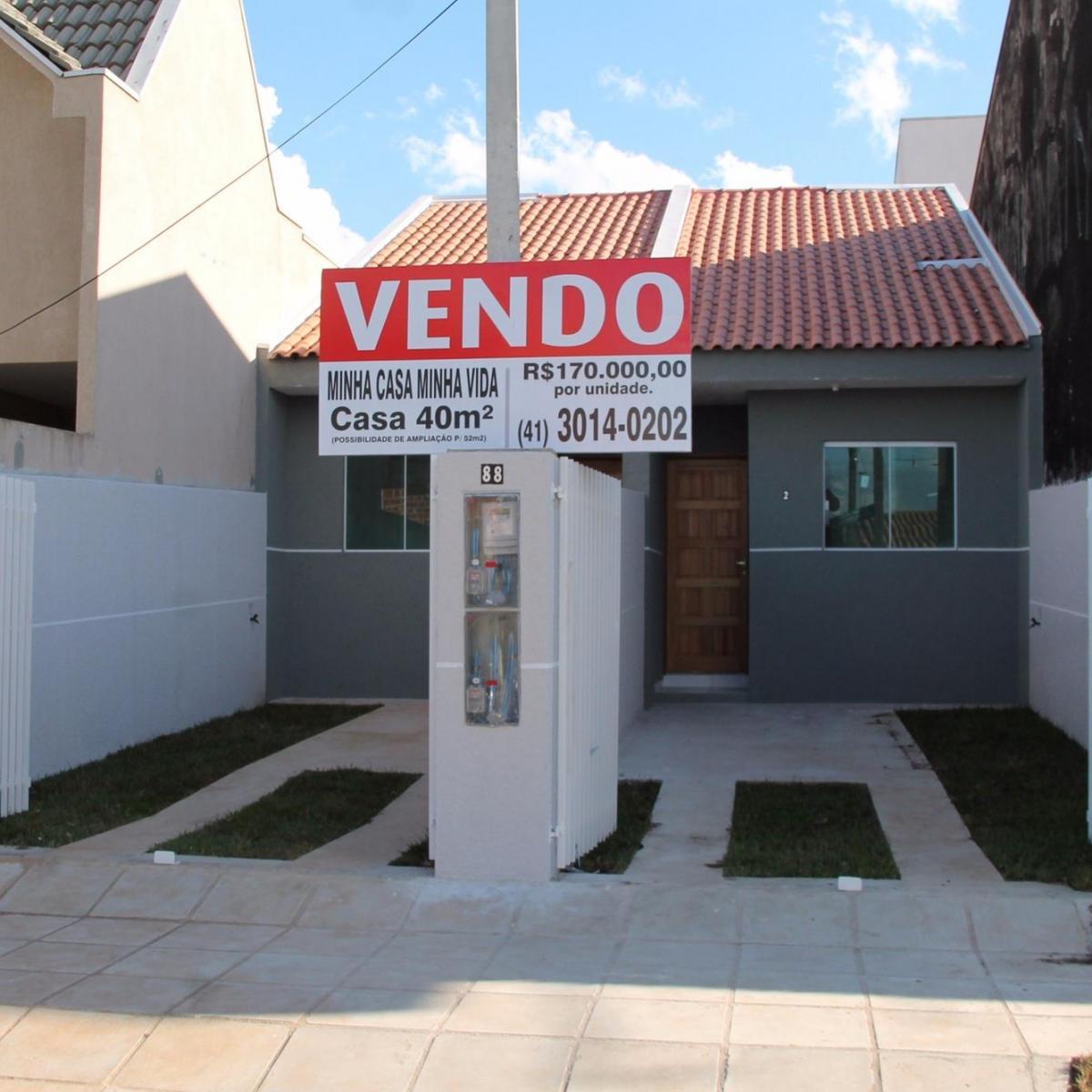 Casa venda com 2 quartos s tio cercado curitiba r for Decoracion casa 40 m2