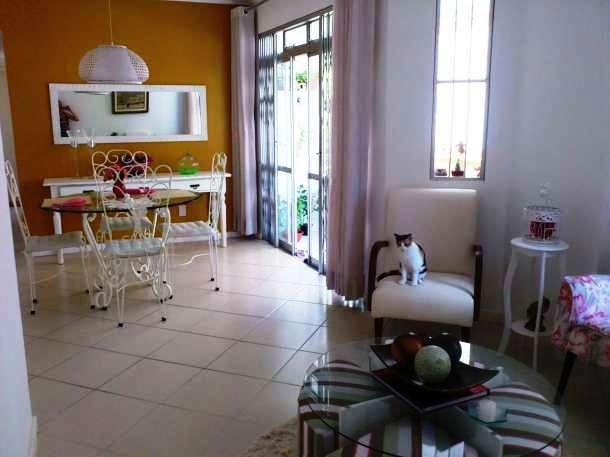3 quartos com duas suítes e varanda nascente decorado.