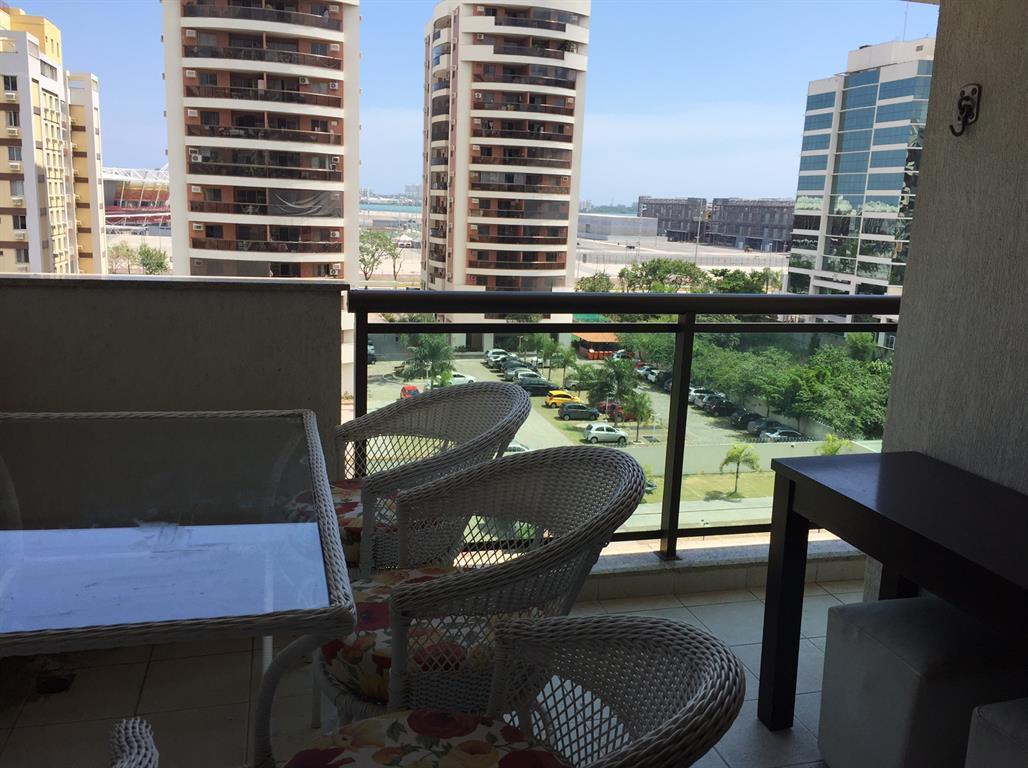 Lindo apartamento com 2 Quartos na Barra da Tijuca - Pan Paradiso