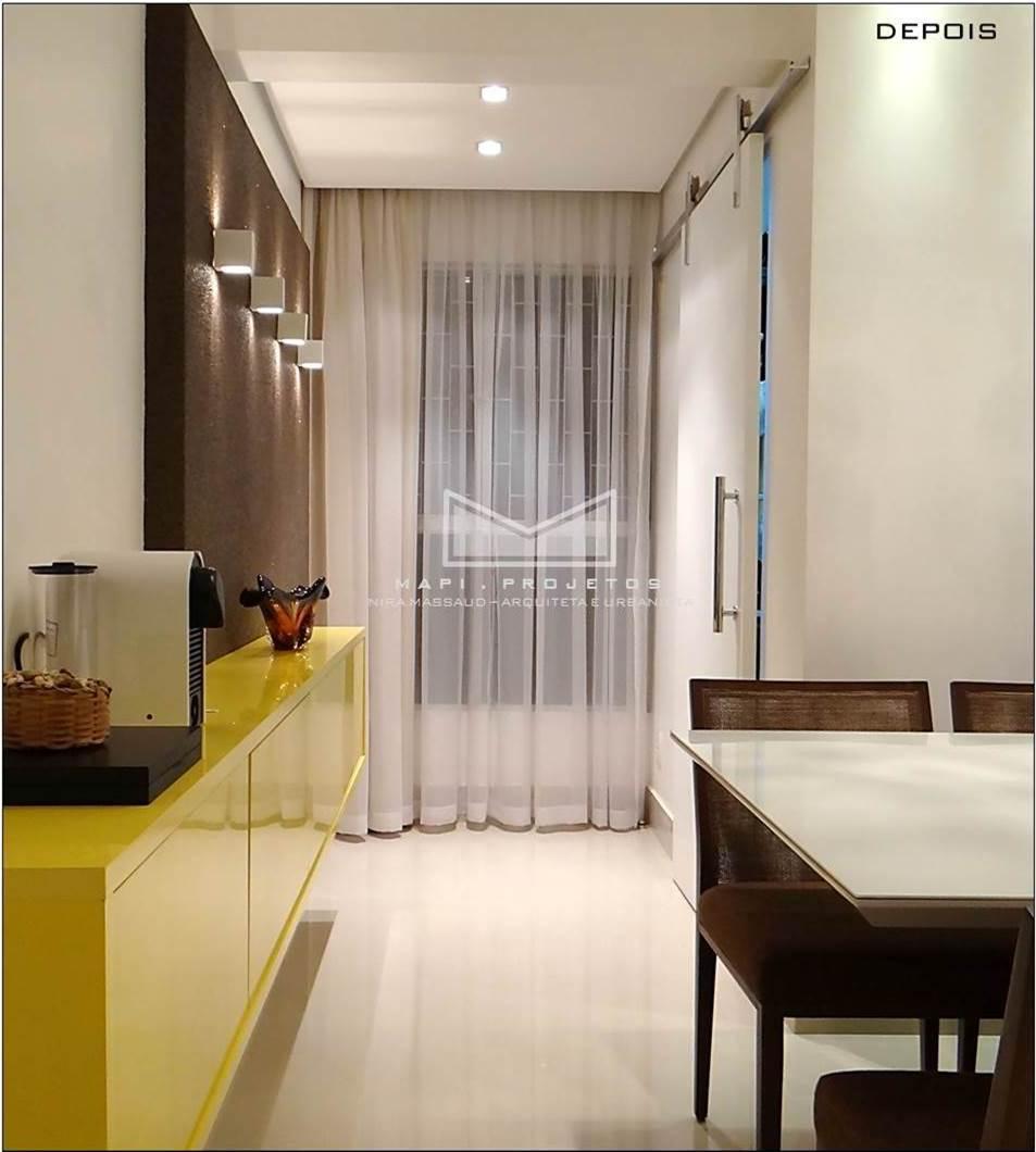 Lindo apartamento de 2 quartos, reformado e no Ed. Belize