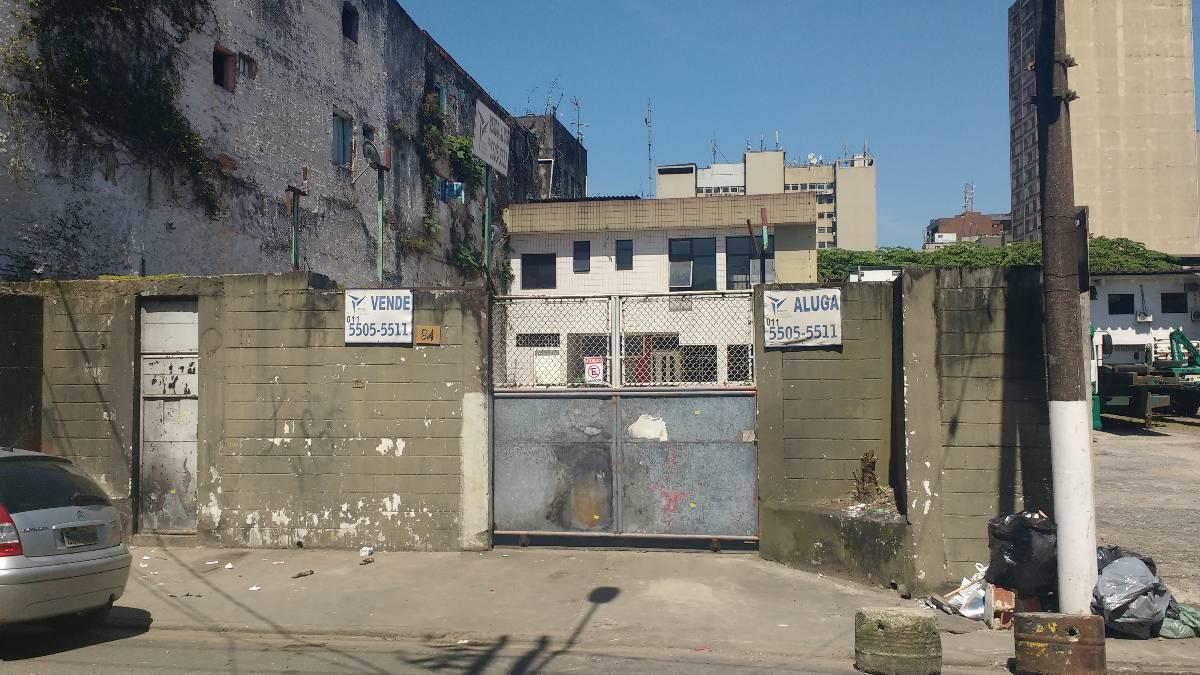 Terreno Comercial - Santos (Centro Velho)
