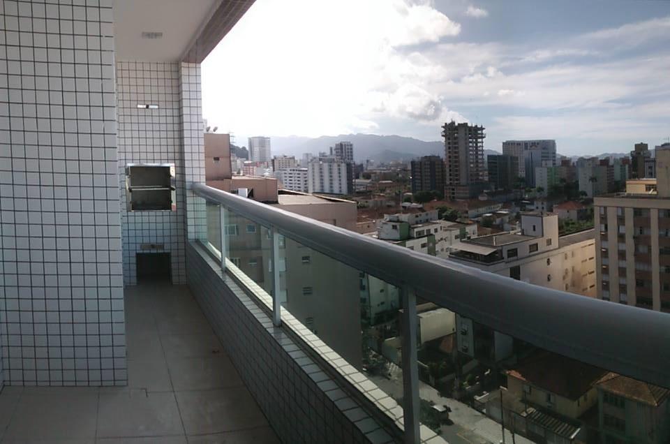 Apartamento 2 Dormitórios 2 Vagas Varanda com Churrasqueira em Santos