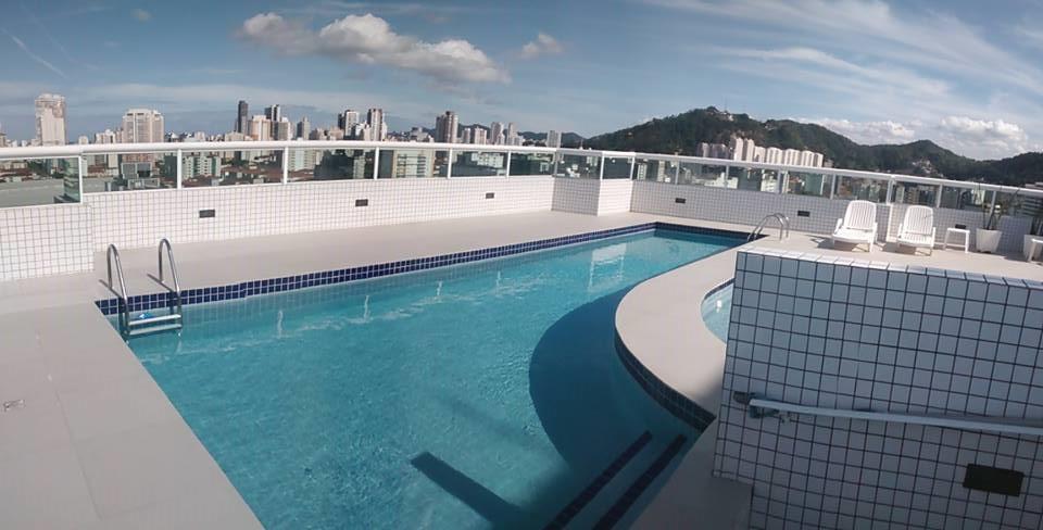 3 Dormitórios 2 Vagas Churrasqueira na varanda em Santos