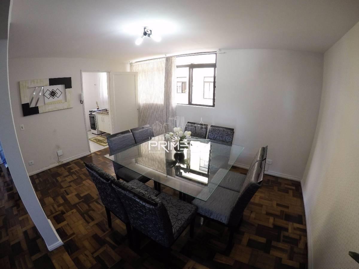 Batel - Apartamento 3 dorm - 1 vaga - 88 m² útil - Ed. Arco Iris