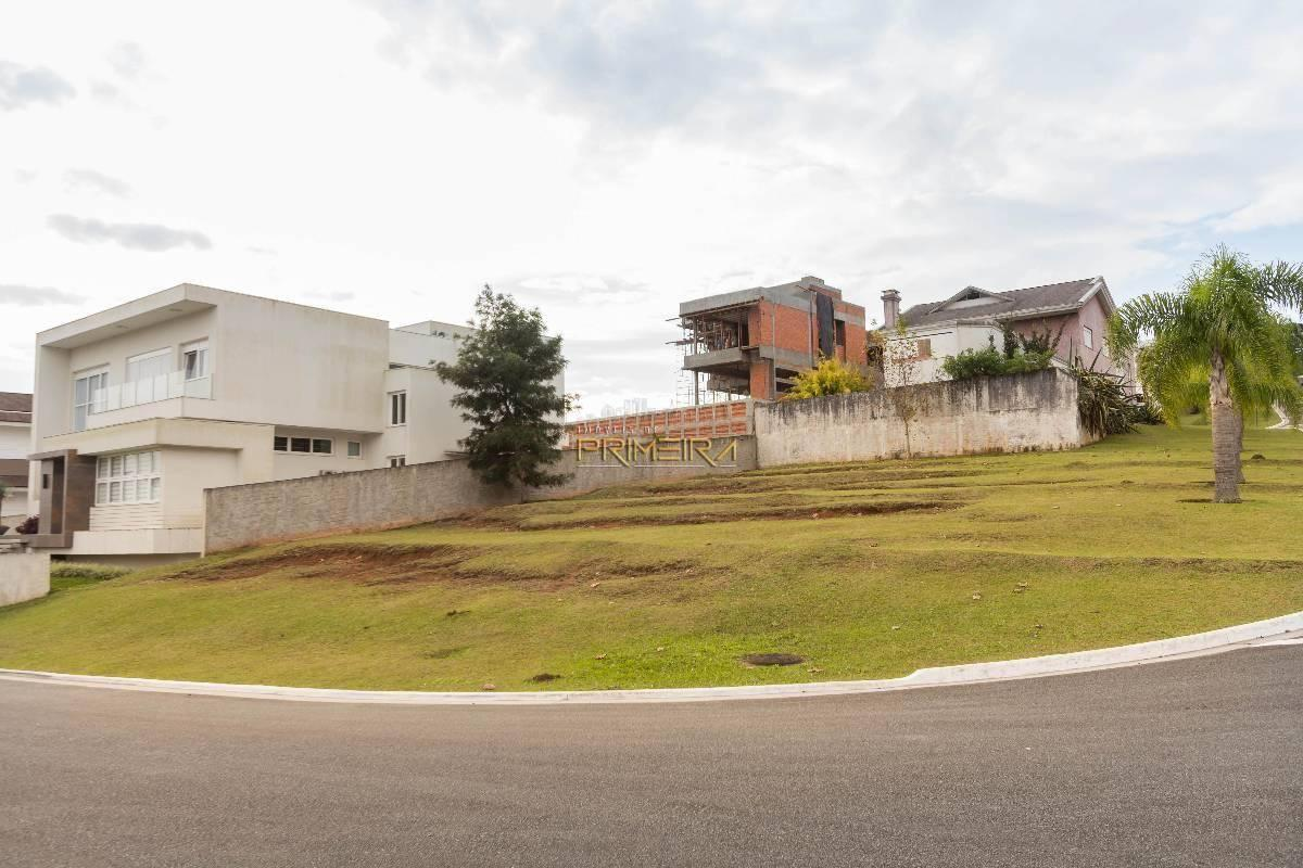 Terreno de esquina frente para Lago - Condomínio Alphaville Graciosa