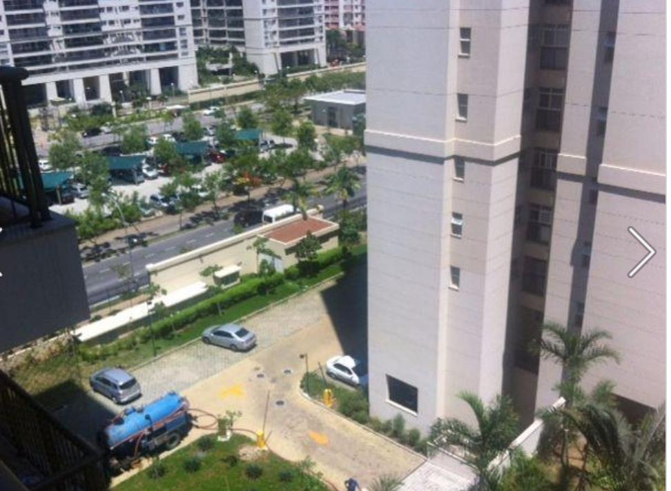 Condominio Cidade Jardim, apartamento de 2 quartos na Barra da Tijuca