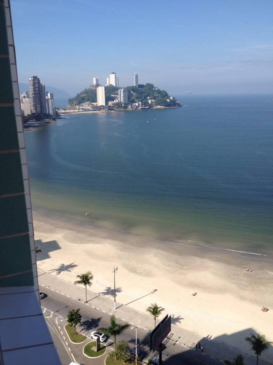01 Dormitório com Vista ao Mar - Centro / São Vicente