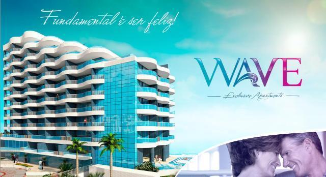 Wave Exclusive – 1/4 Suíte e varanda – 59 m²