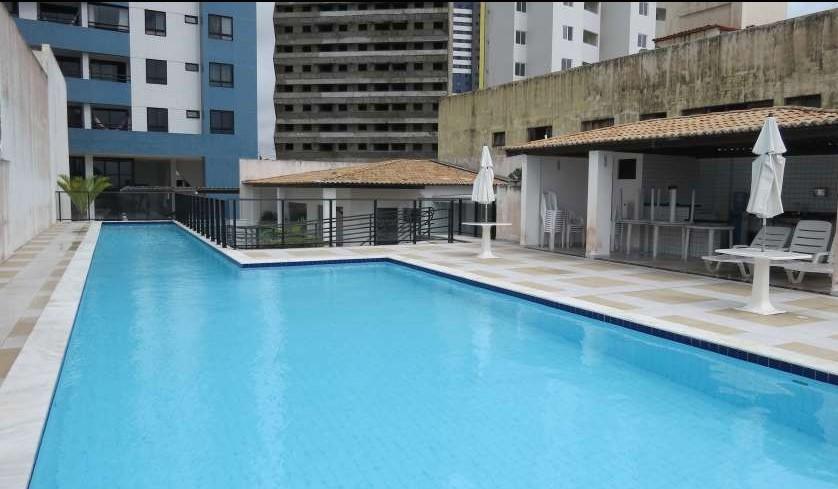 Apartamento com 3 suítes em Ponta Negra com linda vista pro mar
