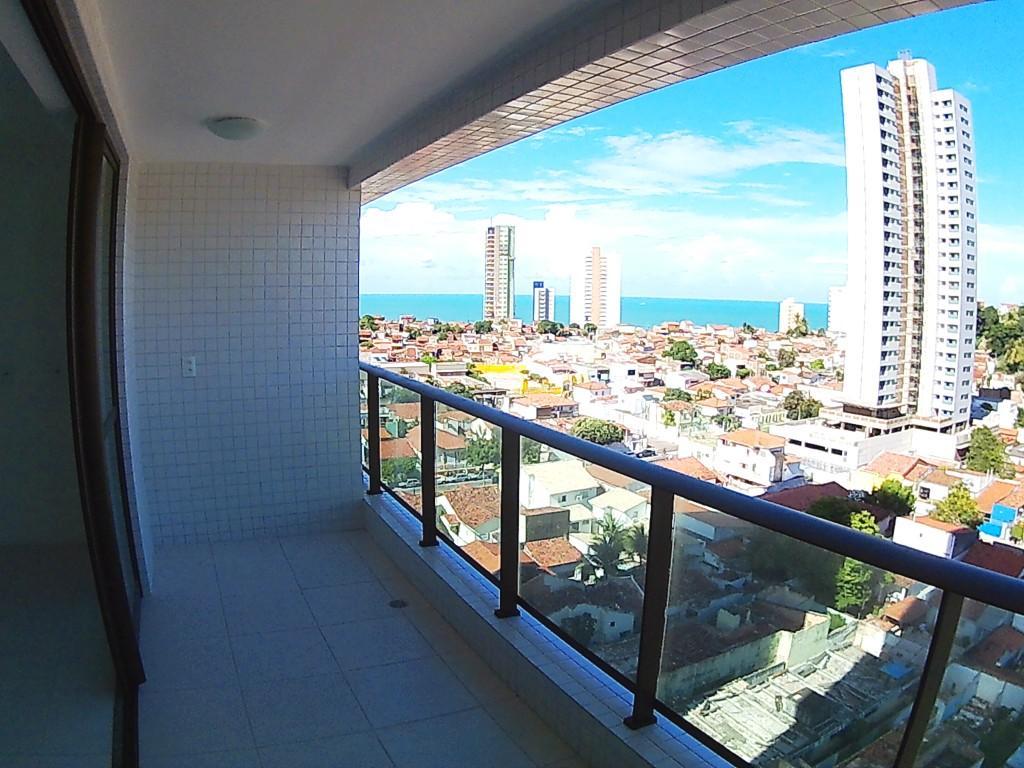 Apartamento para locação em Petrópolis com vista pro mar