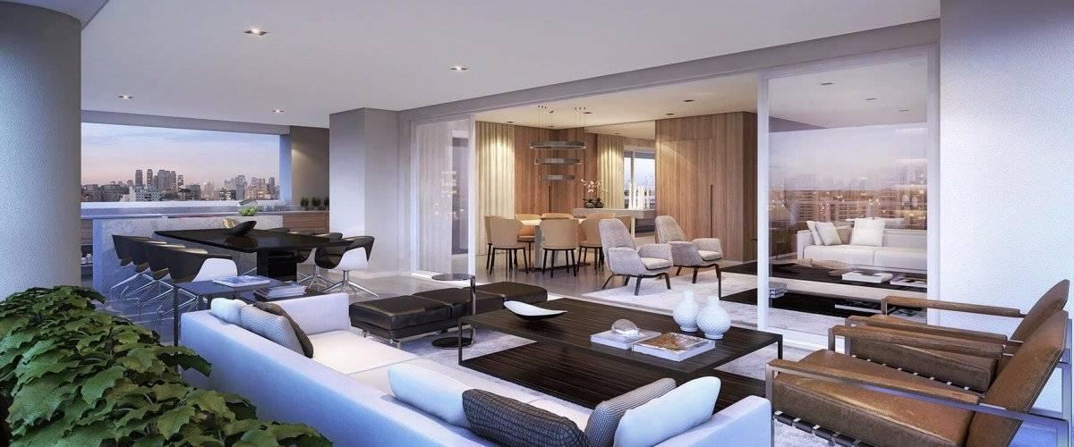 Apartamento de 278m com 4 suítes 4 vagas com terraço gourmet e depósito