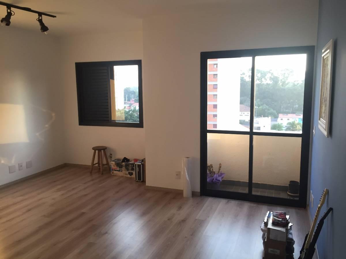 Apartamento 1 quarto, sala estendida, banho, cozinha com lavanderia e 1 vaga