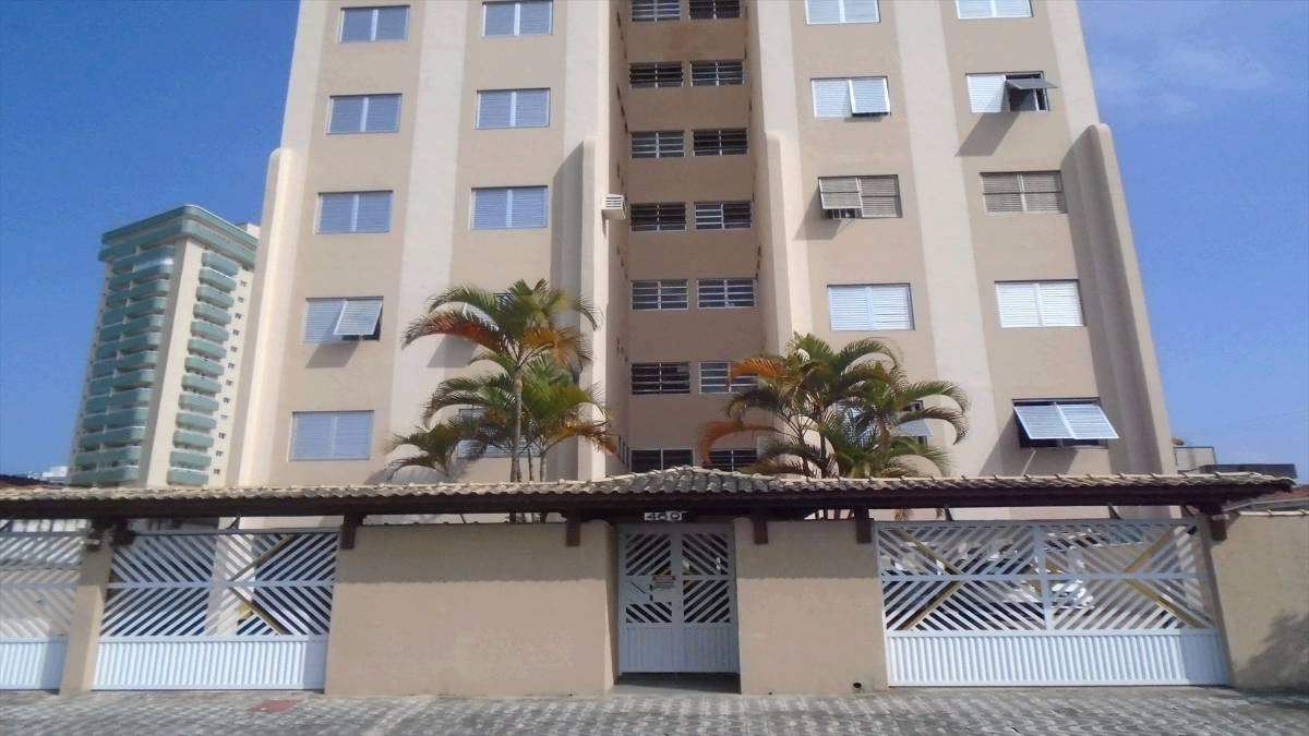 Apartamento de 03 dormitórios na Vila Guilhermina em Praia Grande