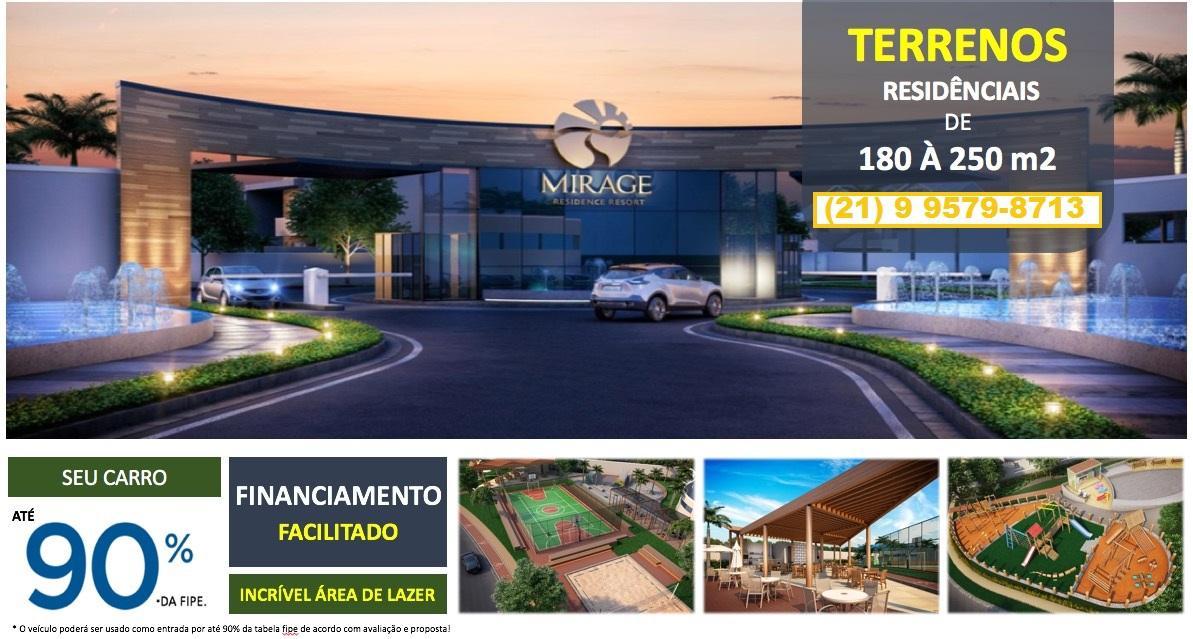 Terrenos a partir de 180 m² - Campo Grande