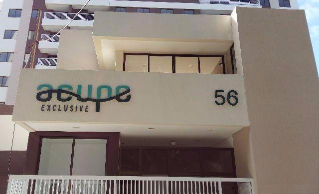 Acupe exclusive – 2/4 Suíte e varande - 60m²