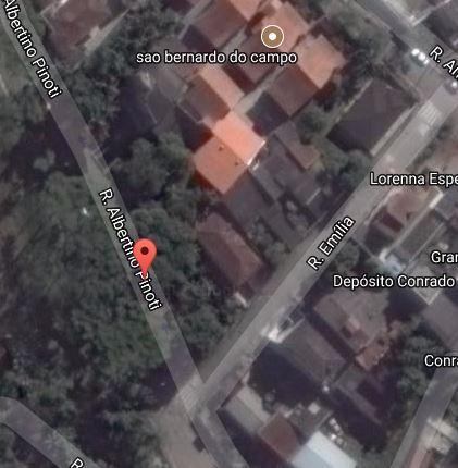 Terreno, A.T. 533m². Loc.: São Bernardo do Campo/SP.