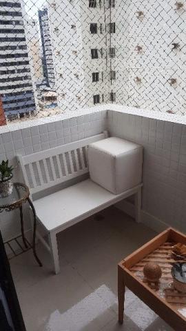 Apartamento 2/4 com suíte e varanda no Stiep - Decorado