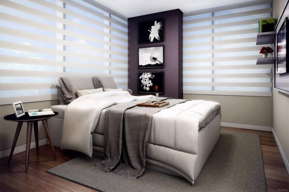 Flat The Five Home - 2 dormitórios com vaga de garagem - Completamente mobiliado