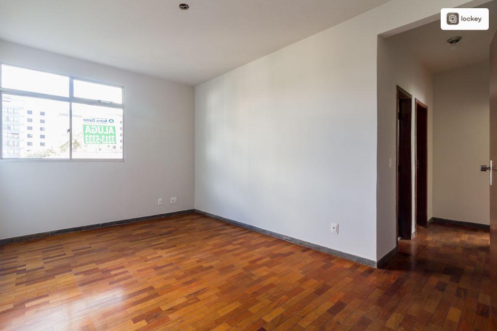 Apartamento para aluguel possui 54 m² e 2 quartos em Santo Antônio - BH - MG.