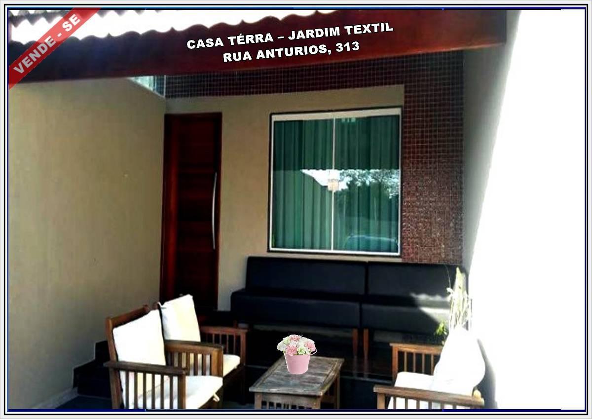 Casa Térrea para Venda no Bairro Jardim Textil