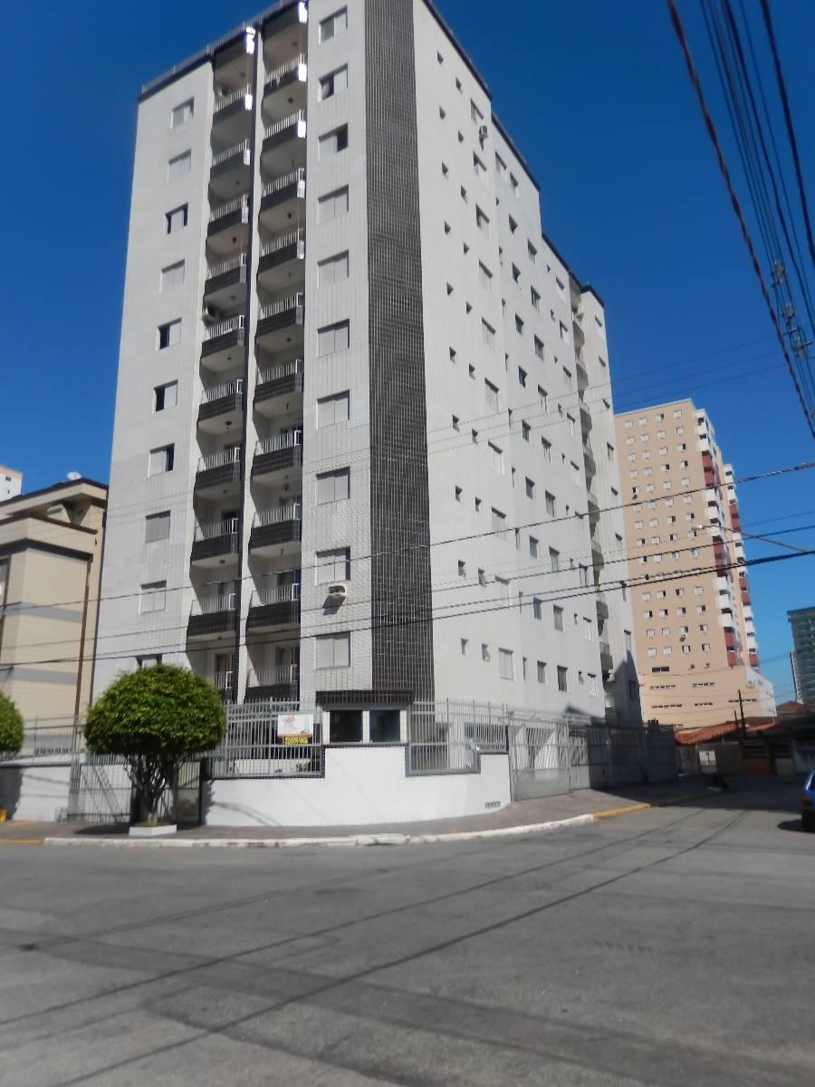 Apartamento  com 2 dormitórios na Guilhermina em Praia Grande/Sp.