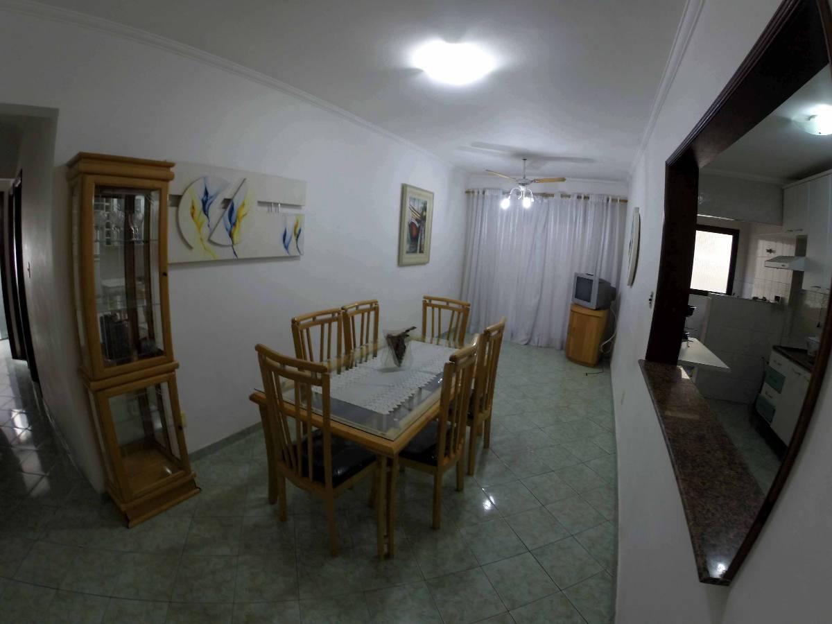 Praia Grande, Forte, apartamento mobiliado, 2 dormitórios, locação, prox praia