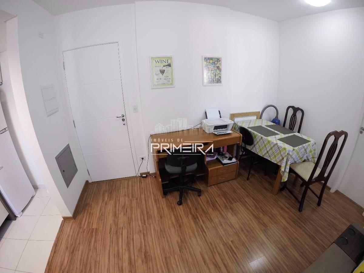 1 Dormitório Semi-Mobiliado c/ Vaga no Centro | Mid