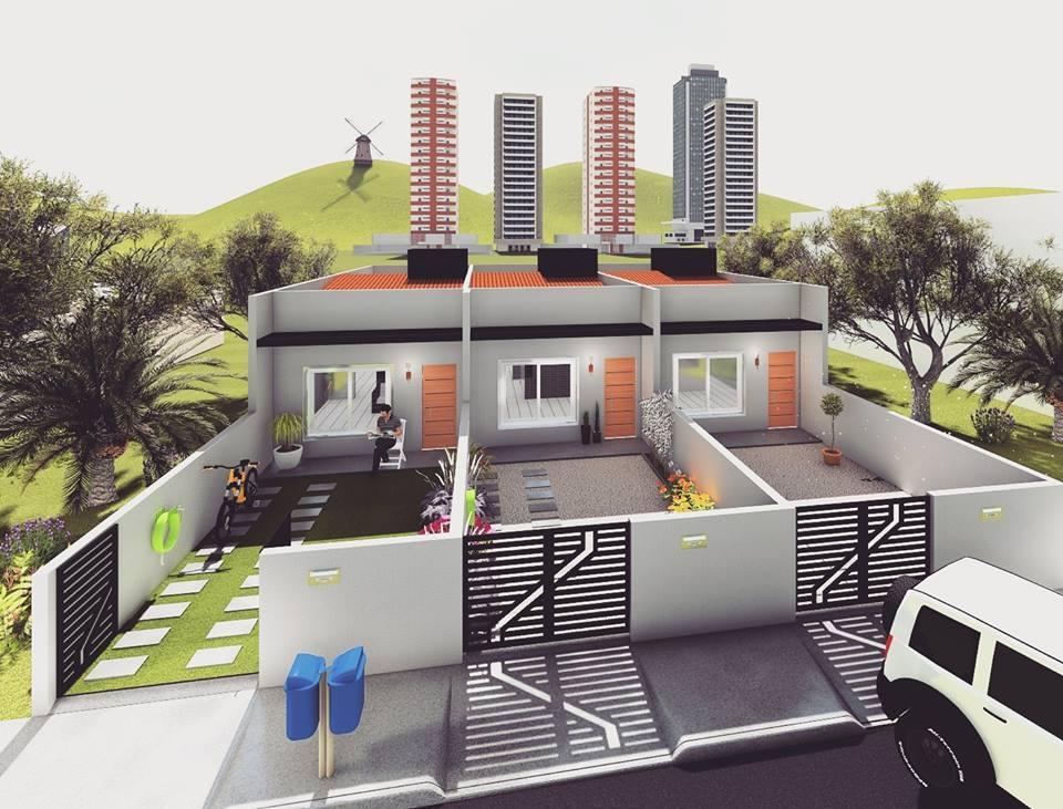 Casa geminada em Balneário Piçarras