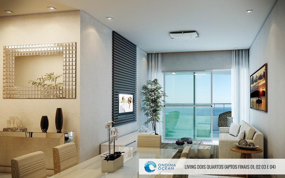 Apartamentos de 2/4 com 82 m²,  suite e varanda. Oportunidade em Ondina!