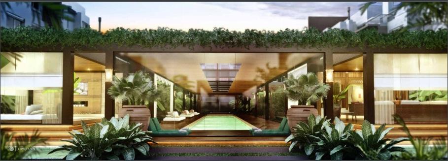 Apartamento 03 dormitórios 02 vagas em condomínio clube Campeche Florianópolis